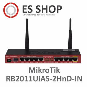 Router Mikrotik Rb2011uias-2hnd-in Wifi 128mb 10 Puertos