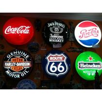 Luminosos Placas Bar Marcas Cerveja N Neon Led Harley Route6