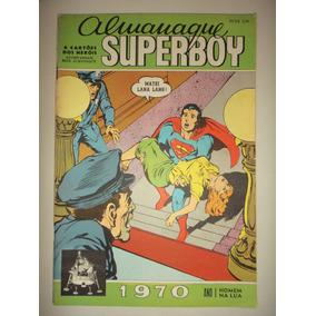 Almanaque Superboy 1970 Editora Ebal Excelente