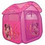 Barraca Toca Brincar De Acampar Casinha Rosa Minnie Infantil