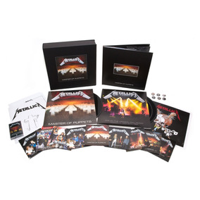 Metallica Master Of Puppets Deluxe Box Set Nuevo 10/11
