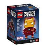 Lego Homem De Ferro Coleção Brick Headz 41590 96 Pçs