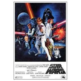 Poster Cartaz Star Wars / Guerra Nas Estrelas #6