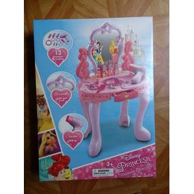Disney Princesas Tocador Musical Con Luces