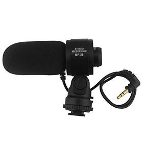 Lp Shotgun Microfone Est¿reo, A Fotografia Entrevista Video