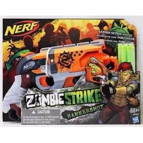 Nerf Zombie Strike Hammers Hot Original De Hasbro Pistola