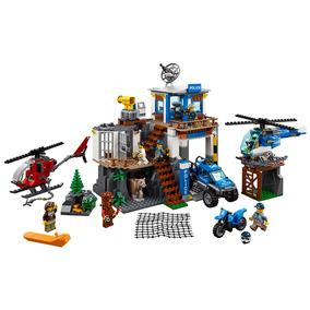 Lego City - Quartel-general Da Polícia Na Montanha