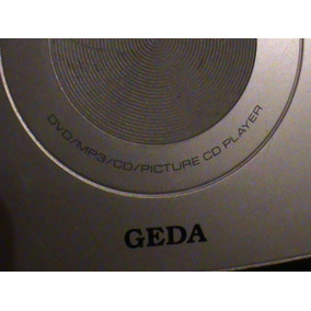 Tv, Reproductor Dvd, Mp3, Portatil Marca Geda
