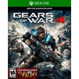 Xboxone Gears Of War 4 + 4 Juegos Digitales Bonus