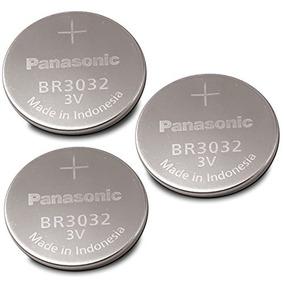 Batería Panasonic,botón De Litio Br3032- 3v (3 Piezas)