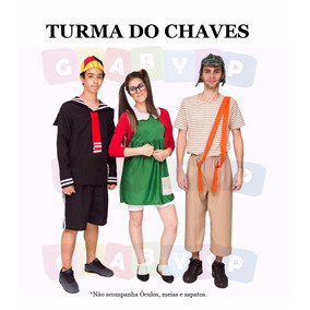 Fantasia Da Turma Do Chaves = Chiquinha + Chaves + Kiko