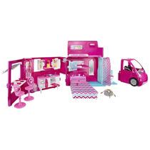 Barbie Hermanas La Vida En El Dreamhouse Camper Bjn62 - Ros