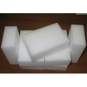 Esponja Mágica Melanina 10x6x2 Cm Magic - Kit Com 20 Unid