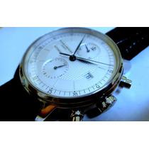 Relógio E Chronograph Baume & Mercier Classima De Aço