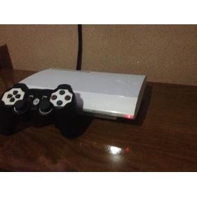 Playstation 3 Branco 23 Jogos+hdmi+blu-ray+wifi Garantia