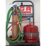 Equipo Soldadura Oxigas Refrigeración 3kg X 1/2 Completisimo