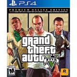 Grand Theft Auto V Gta V Premium Ps4 Nuevo - Blakhelmet E