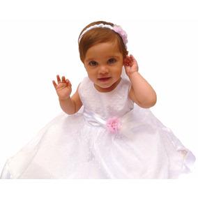 Vestido Bautismo Nena Bebe Estilo Shabby Chic