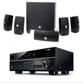 Home Theater Jbl Cinema 610 Receiver Yamaha Rx-v483 Kit 5.1