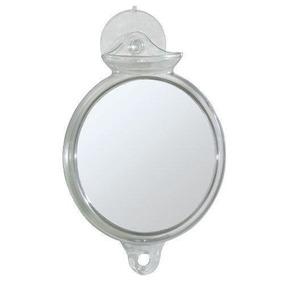 6 \espejo Ducha-fog Libre W / Ventosa Nuevo
