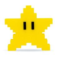 Estrella - Pixel Super Mario Figura Impresa En 3d Excelente