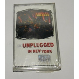 Casette Nirvana Unplugged In New York Nuevo