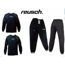 Combo: Pantalón Arquero + Buzo Arquero Reusch - 10596 -10389