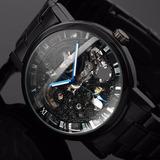 Reloj Skeleton Automático Mecánico Acero 100 % Original