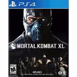 Izalo: Juego Fisico Mortal Kombat Xl Ps4 + Local!