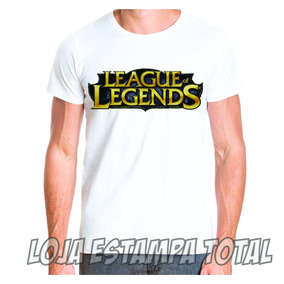 Camiseta Game League Of Legends - Camisa Lol Jogo
