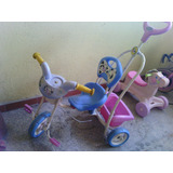 Triciclo Carrito Para Niña Pequeño De Vaca Usado