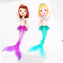 Muñeca Princesa Sofia Sirena Con Luz Mermaid Juguetes Niña