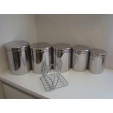 Porta Mantimentos - Cozinha Inox