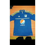 Camiseta De Millonarios De Colombia 2012, Talle L.