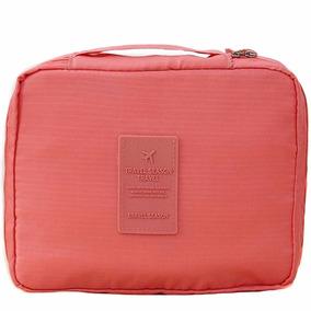 Maleta Bolsa Cosmetiquera Organizadora De Viaje Coral H8075