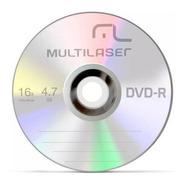 Dvd-r Gravável 4.7gb 120min 16x Dv061 Multilaser 50 Unidades