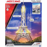 Meccano Torre Eiffel Y Puente De Brooklyn