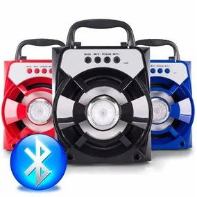 Caixa Caixinha Som Portátil Via Bluetooth Mp3 Pendrive Pc