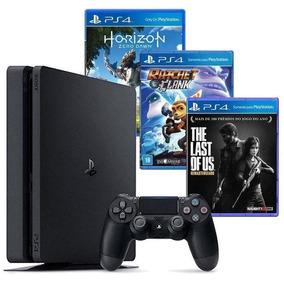 Consola Ps4 Sony 500gb + 3 Juegos
