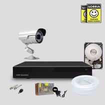 Kit Segurança Dvr Stand Alone 4 Canais + 1 Hd 1 Câmera Infra
