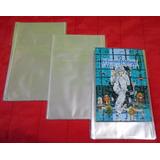 Saco Plástico Para Mangás Naruto Freezing Bleach Cdz