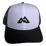 Boné Mountain Wear Preto E Branco / M012