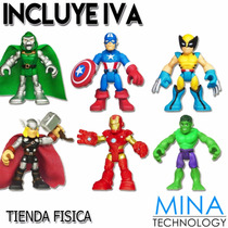 Muñecos Mini Marvel Modelos Variados Hasbro - 33081 2216 T