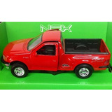Ford F150 Pick Up 1998 Regular Cab Flareside Welly 1.24
