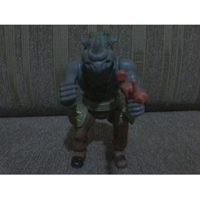 As Tartarugas Ninjas Rocksteady Anos 90