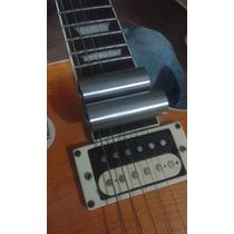 Slide Inox Para Guitarra E Violao Para Dedos Menores