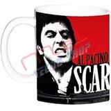 Tazas Y/o Jarros Scarface, Cara Cortada, Al Pacino