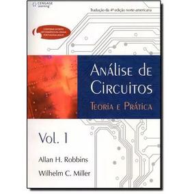 Livro Análise De Circuitos Teoria E Prática Vol. 1 E 2