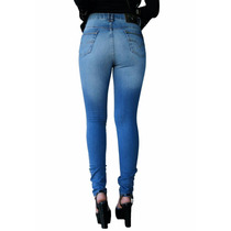 Calça Jeans Feminina Denuncia Skinny Cintura Média Promoção