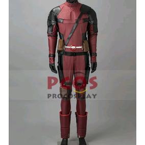 Cosplay Deadpool Ultra Luxo Fantasia. Com Duas Mascaras.